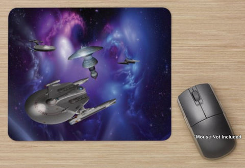 Unofficial Starfleet Star Base 10 - Star Trek Station - Standard Mouse Mat - New