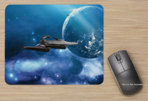 Unofficial USS Reliant On Mission - Star Trek Ship - Standard Mouse Mat - New