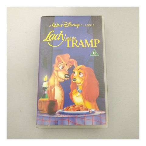 Lady And The Tramp [VHS] [Disney 1955] USED