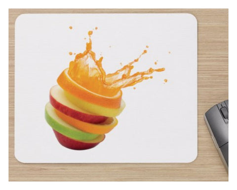 Fruit Salad Image - Home Computer Soft Mouse Mat With Image Printed On It