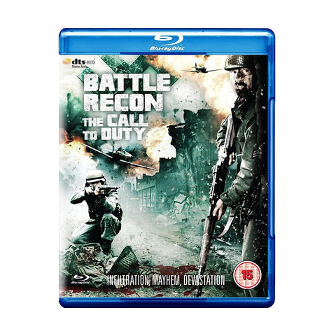 Battle Recon - Call To Duty (Blu-ray, 2012) New