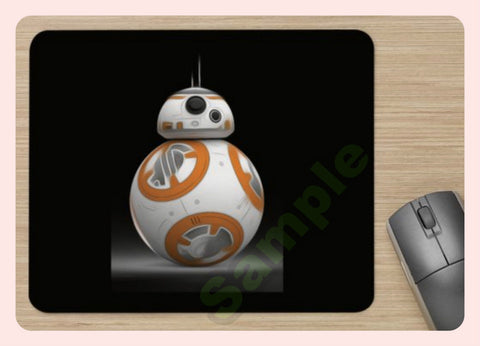 Unofficial Star Wars BB8 Mouse Pad / Mouse Mat - Soft Mouse Mat - New