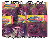 Kids Pink Mini Kitchen Set - By Ackerman Toys - New Sealed