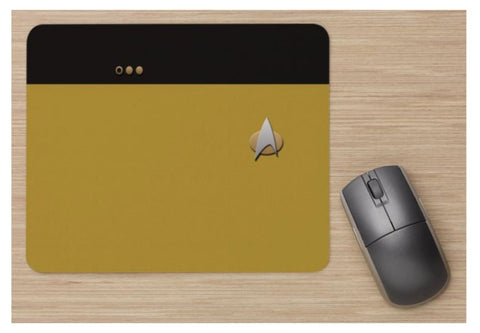 Unofficial Trek LT Commander Mouse Mat - Star Trek Inspired - Standard Mouse Mat - New
