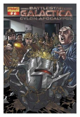 Battlestar Galactica Cylon Apocalypse Issue 2 (#2) Cover C - 2007 Dynamite Comics