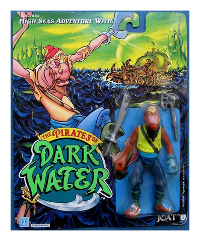 Pirates of Dark Water JOAT Action Figure - Vintage New Sealed - 1990 Hasbro Toys