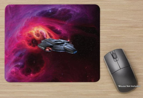Unofficial USS Defiant - Star Trek Inspired - Standard Mouse Mat - New