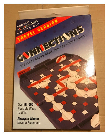 Connections Travel Edition: Strategy Board Game For All The Family - New