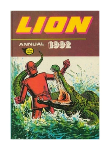 Lion Annual 1982 - Not Price Clipped - Used
