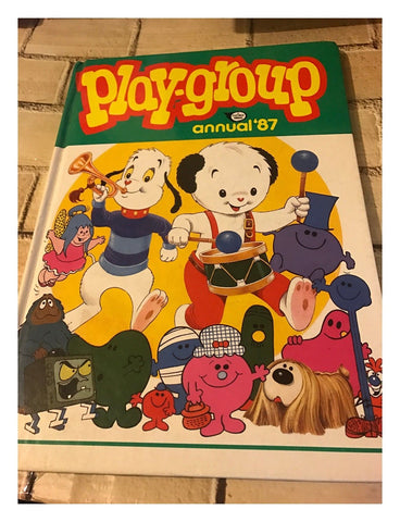 Fleetway: Playgroup Annual 1987 - Not Price Clipped Vintage 1987