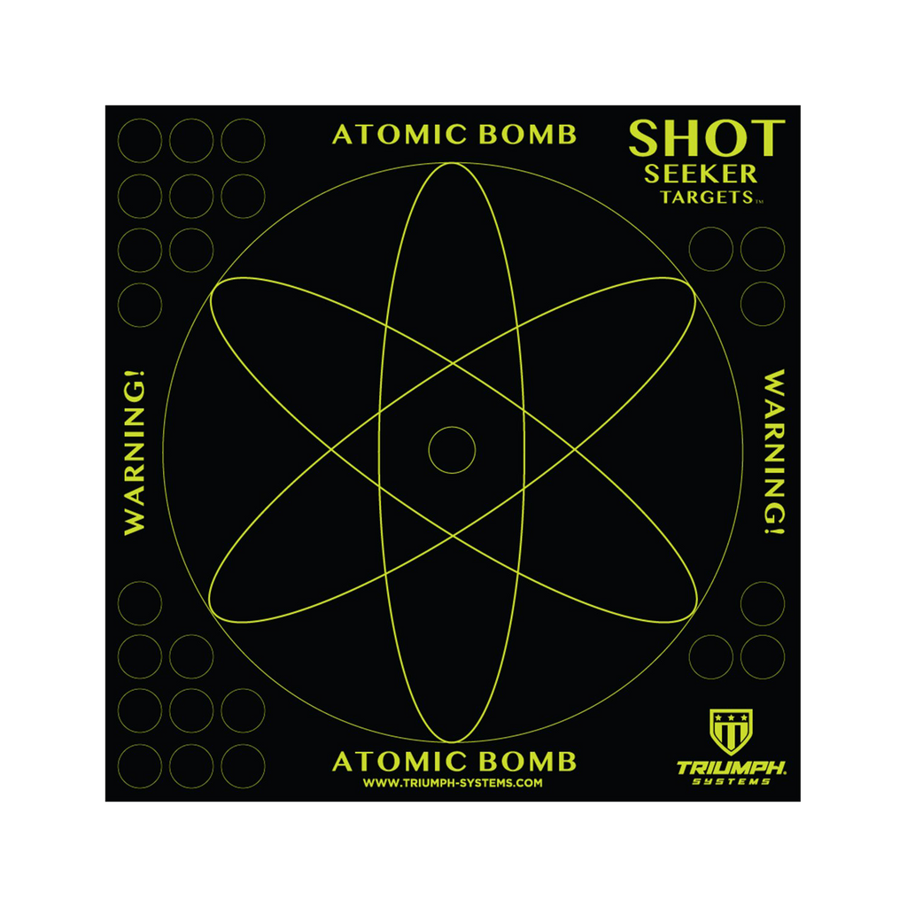 "Shot Seeker 10"" Atomic Bomb Warning Targets"