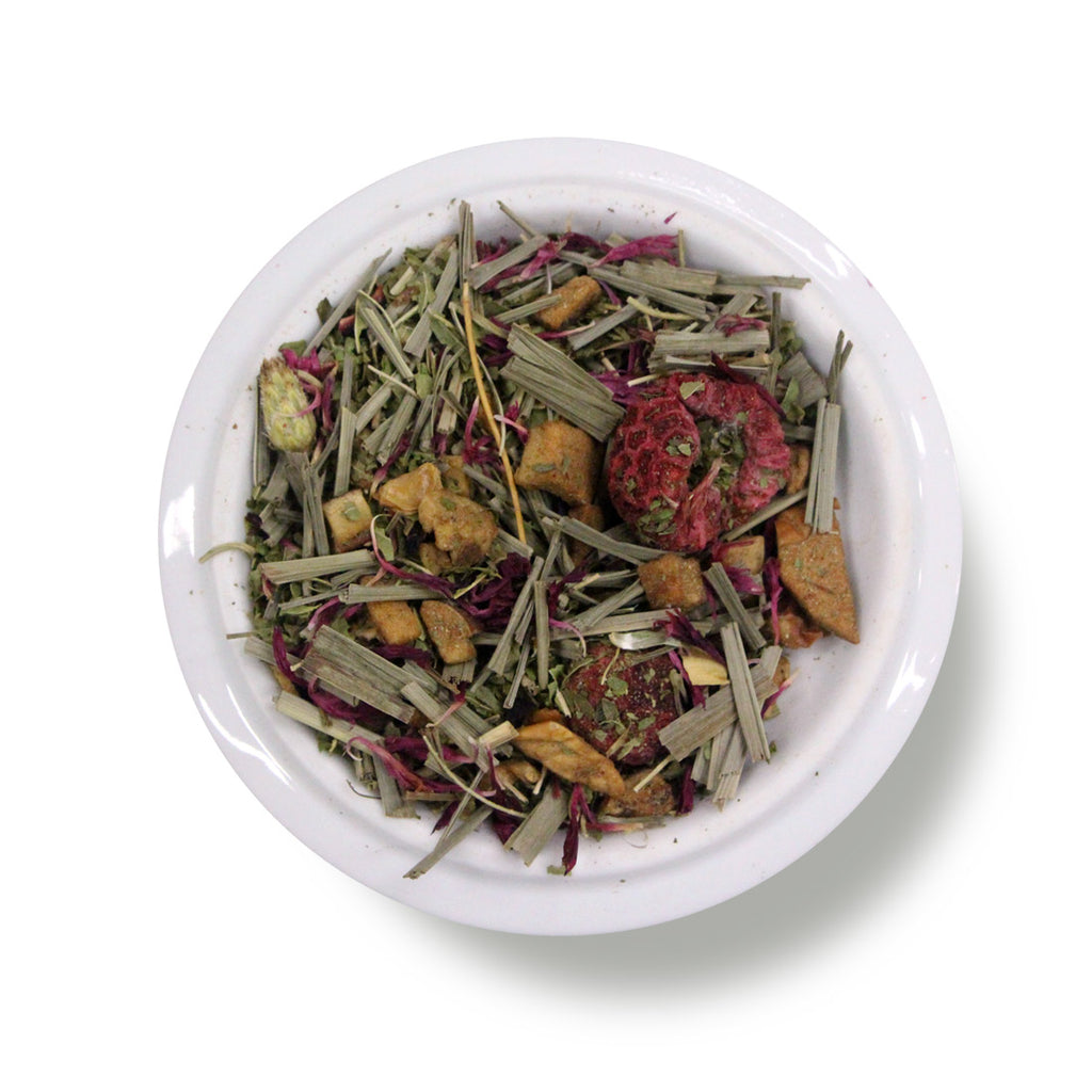 Herbal Tea Lemon Raspberry Swirl