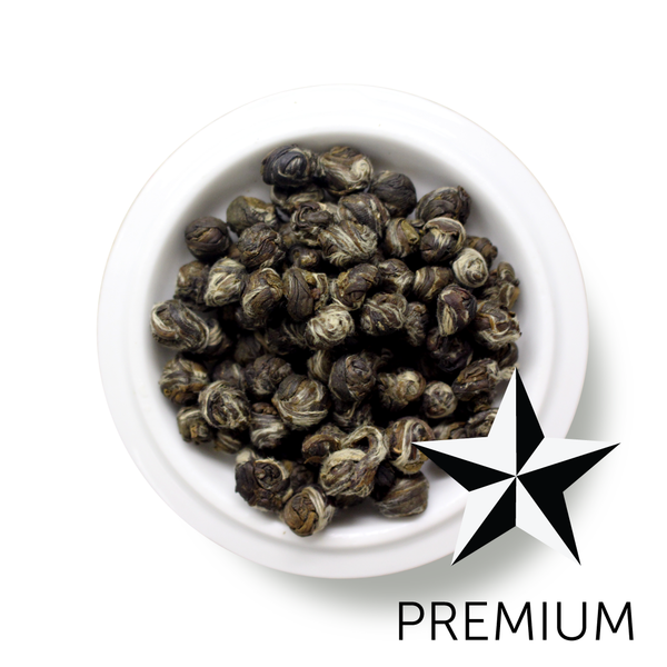 Premium Green Tea Jasmine Dragon Pearl