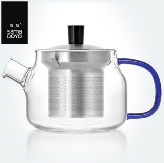 Samadoyo 480ml Borosilicate Glass Teapot