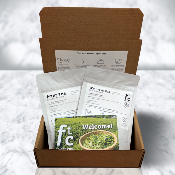 Tea Discovery Box - Wellness/Herbal