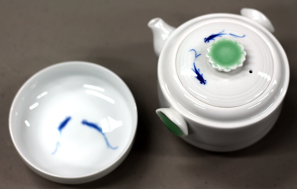 Porcelain Tea for Two Teapot