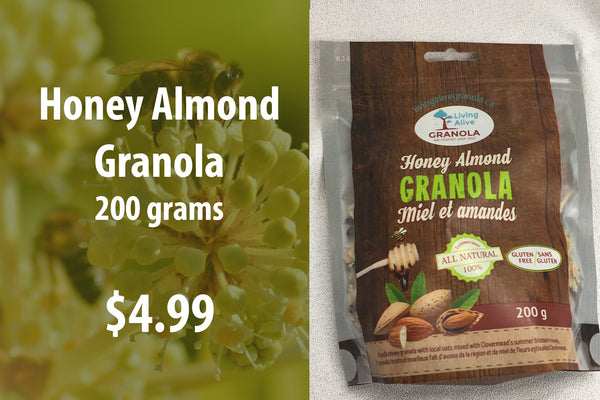 Honey Almond Granola 200 grams