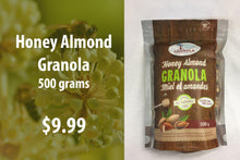 Load image into Gallery viewer, Honey Almond Granola 500 grams