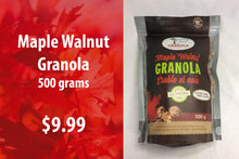 Load image into Gallery viewer, Maple Walnut Granola 500 grams