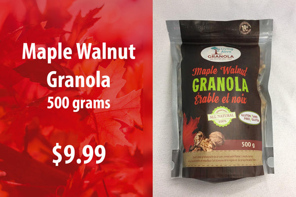Maple Walnut Granola 500 grams