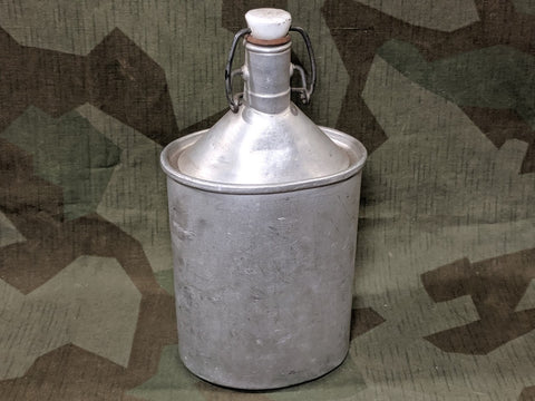 Aluminum Flip-Top Bottle