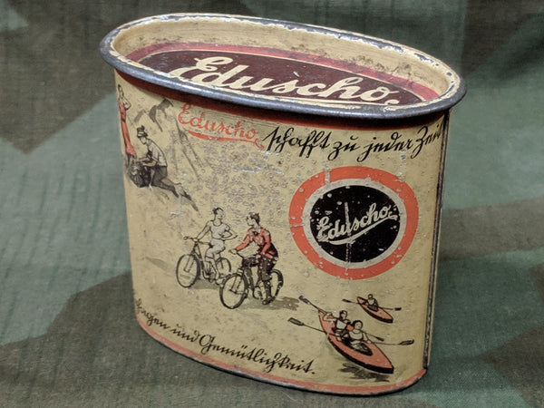 Eduscho Ausflug Coffee Tin Pocket Sized