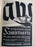Original Pen Nib Tin Soennecken