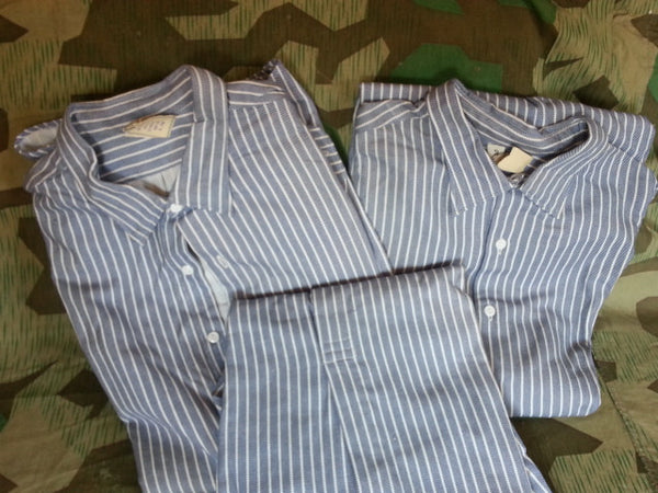 Blue Striped Shirts