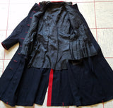 Black Jacket with Red Trim
