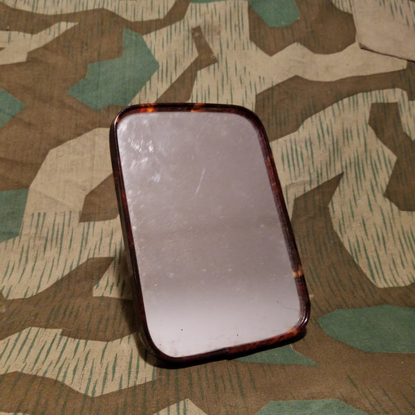 Brown Celluloid Trim Mirror