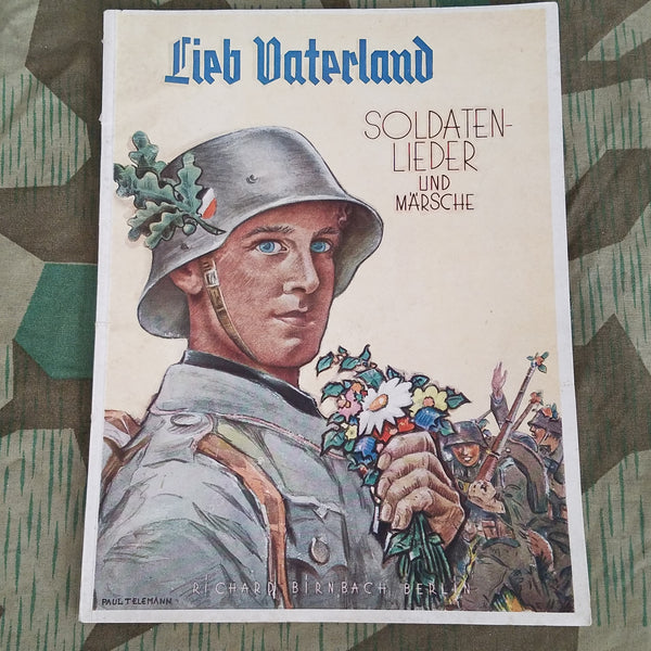 Song Book Lieb Vaterland