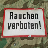 Original Rauchen Verboten! Big Sign Red Trim