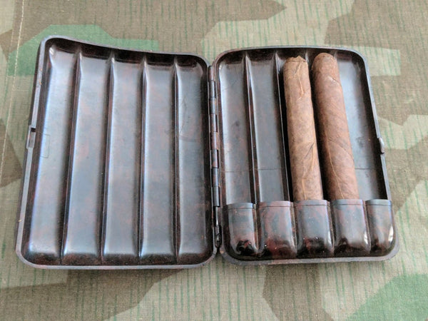 Bakelite Cigar Case for 5 Cigars (AS-IS)