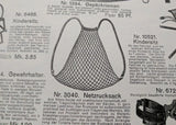 Blue Net Backpack