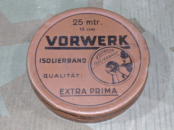 Vorwerk 25m Large Electrical Tape Tin