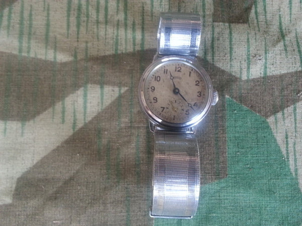 German WWII-era Thiel Wristwatch w Metal Band