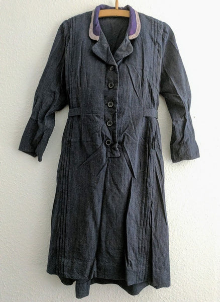 Dark Blue Work Dress