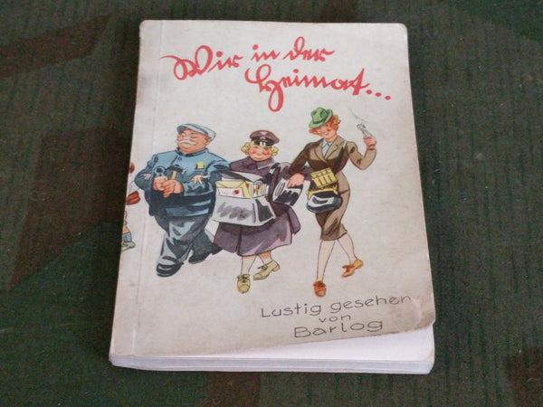 Wir in der Heimat Cartoon Book