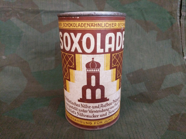 Soxolade Chocolate Like Drink Mix Can