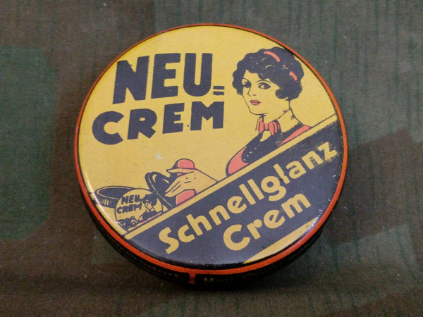 Neu Crem Shoe Polish Tin FULL