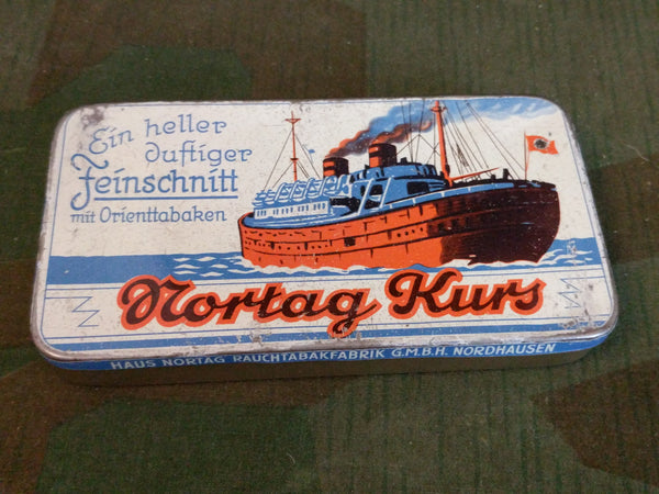 Nortag Kurs Loose Tobacco Tin De-Nazified