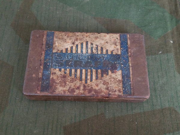 Rusty Sulima Cigarette Tin