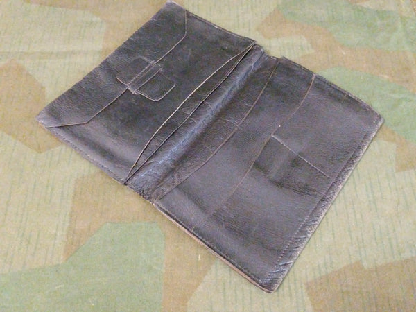 Period Black Leather Wallet