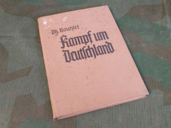 Kampf um Deutschland 1938 book AS-IS