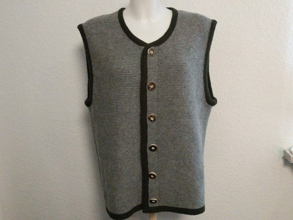 Men's Trachten Sweater Vest