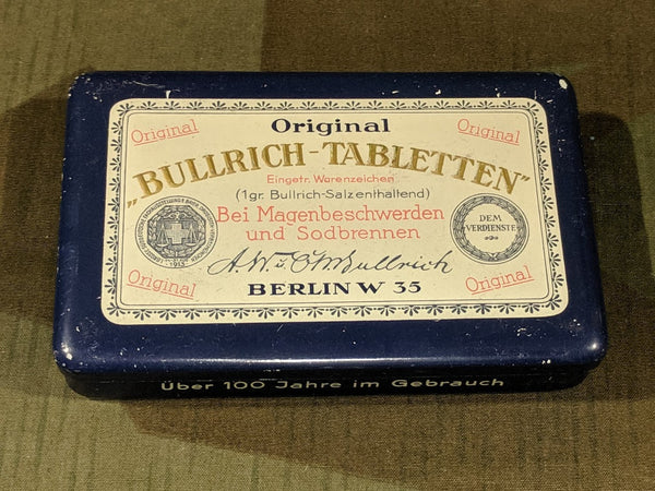Bullrich-Tabletten Tin for Stomach Pain/Heartburn