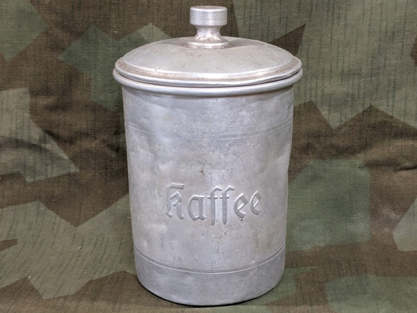 Aluminum Coffee Container (as-is)