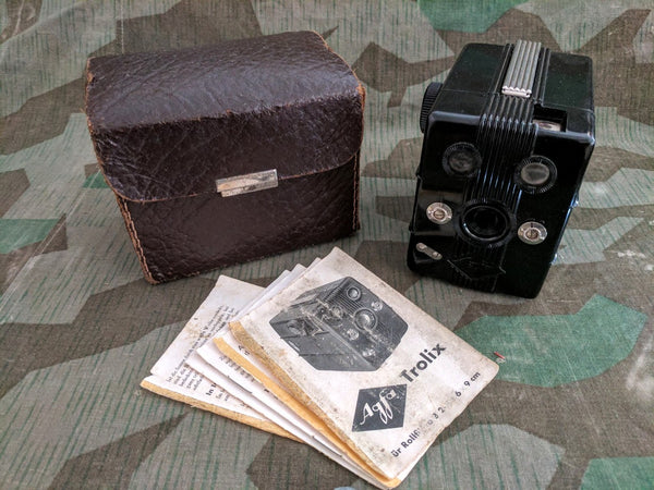 Original Agfa Bakelite Box Camera