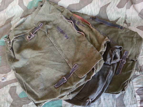 Original WWII German Army Clothing Bags