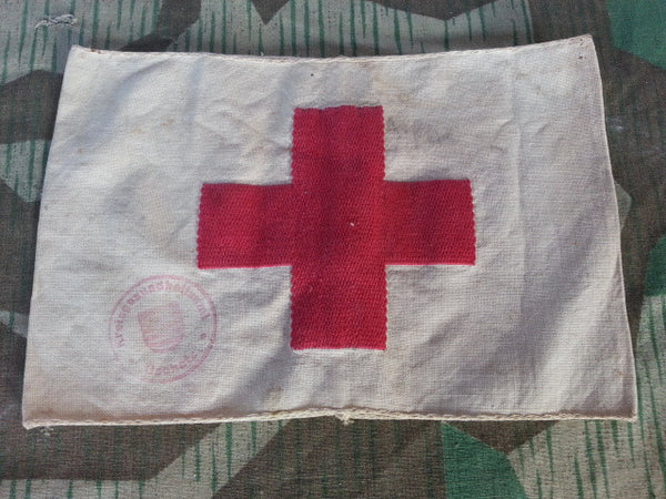Original WWII German Red Cross Armband
